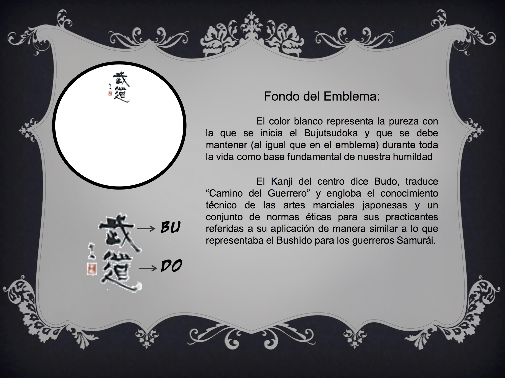 Emblema Bujutsu 6