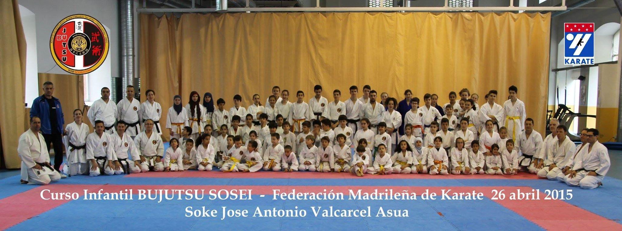 Grupo FMK Infantil Abril 2015